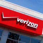 "channel letters on verizon sign with graphic ""Verizon"""