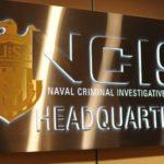 Sign/ plaque NCIS Naval Criminal Investigative Service Headquarters