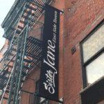 """Vertical Hanging banner/ sign for """"Sister Jane East Side Tavern"""""""